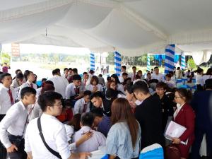 Chương trình mở bán trọn với hơn 200 khách tại Kcn Tân Uyên của Công ty Vũ Gia Phát