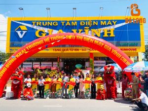 """GRAND OPENING """" TRUNG TÂM ĐIỆN MÁY GIA VĨNH CN 15 """" tại Trảng Bom , Đồng Nai 15/10 thành công tốt đẹp ."""