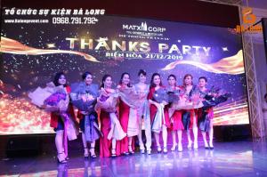 """THANKS PARTY"" HỆ THỐNG MATXICORP TRẦN SÁU"