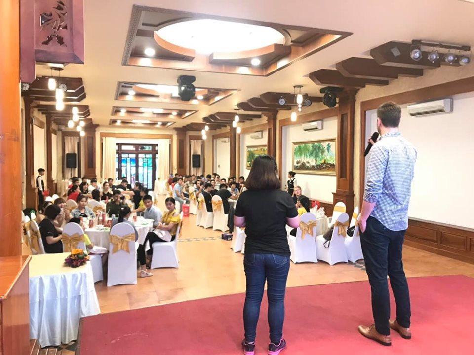 Chương trình team building + Gala Diner Cty Fischer Asia
